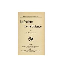 la valeur de la science Poincarre