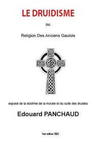 Le Druidisme Edouard Panchaud