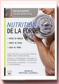 Nutrition de la force Julien Venesson
