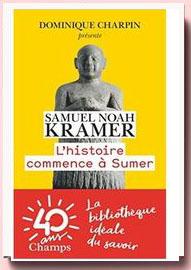 L'Histoire Commence a Sumer Samuel Noah Kramer