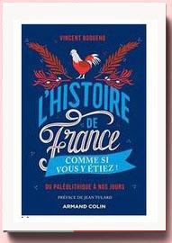 L'Histoire de France comme si vous y étiez ! Du Paléolithique à nos jours Vincent Boqueho
