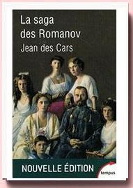 La saga des Romanov Jean Des Cars