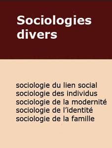 Livres de sociologie divers