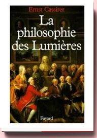 Philosophie Des Lumières ernst cassirer