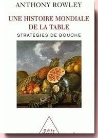 Une histoire mondiale de la table